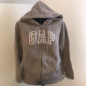 Gap Zip up, Drawstring Hoodie sweatshirt.